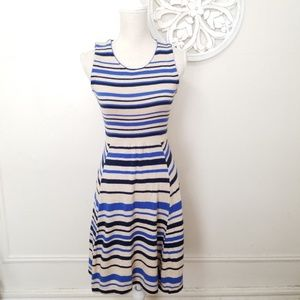 Anthropologie sparrow size XS striped dress